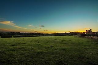 Sunset over Surrey