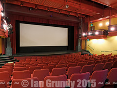 South Holland Centre 5155 (stagedoor) Tags: uk england copyright cinema building architecture circle teatro town kino theater theatre interior balcony olympus cine lincolnshire inside seating stalls artscentre em1 spalding eastmidlands southholland sansomehall