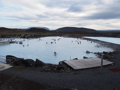 Myvatn, is also a geothermal spring like The Blue Lagoon but cheaper and not so packed. Its also on The other side of The country then blue Lagoon!