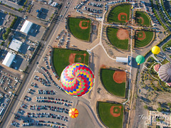 "In the air with ""The Crew Balloon"""