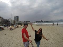 Photo de 14h - Plage Ipanema (Rio, Brésil) - 06.09.2014
