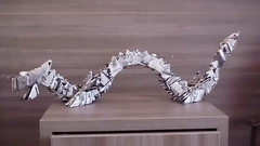 Origami Drago (lucas_fao) Tags: dragon origami3d bigorigami