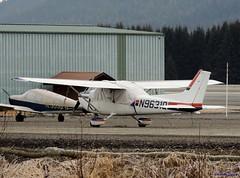 1975 Cessna 172M Skyhawk [N9631Q] (B737Seattle) Tags: alaska plane airplane airport nikon aircraft aviation flight juneau international valley transportation wetlands 1975 coolpix timothy runway skyhawk cessna 172 mendenhall 2015 kalweit 172m p510 pajn b737seattle n9631q