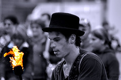 Fire (Maurizio Perna) Tags: torino fire nikon piemonte turin fuoco artisti