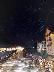 nocturna rio Garona (nayosoval) Tags: sergio rio olympus estrellas nocturna montaña estrella naya omd pirineos em1 garona estrellado circumpolar 1240 mzuiko micro4tercios nayoso nayosoval
