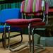Bright meeting chair