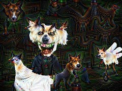 DeepDream Nightmare (Eyellgeteven) Tags: halloween strange animal animals monster manipulated dark weird crazy scary clown fear evil creepy horror modified nightmare disturbing unusual psychadelic creatures creature morph processed bizarre nightmares frightening anthropomorphic morphing demented deepdream eyellgeteven baddram googledeepdream