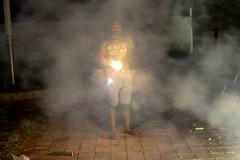Happy Diwali (iskconmonk) Tags: india festival firework diwali festivaloflights slowshutterspeed vrindavan sparkels indiapictures