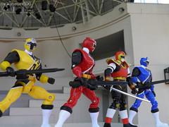 (tsukasatan696) Tags: toy outdoor figure saitama shuriken powerranger chichibu jiraiya sentai toyphotography supersentai  outdoortoyphotography musepark  sekaininjasenjiraiya ninninger