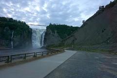 Wodospad Montmorency | Montmorency Waterfall