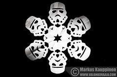 Star Wars Snowflake (Mtj-Art - Thanks for over 2 million views :)) Tags: snowflake winter diy starwars decoration craft hobby talvi koriste harrastus askartelu lumihiutale teeseitse markuskauppinen wwwvalonkuvaajacom