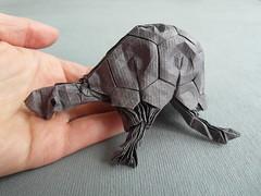 #10 Turtle (Dasssa) Tags: paper origami turtle 2015 ioio ericjoisel