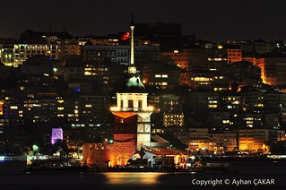 Midnight Maiden's Tower Istanbul