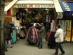(carolemason) Tags: people paris shop souveniers