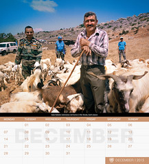 UNIFIL's 2015 Calendar - December (English) (UNIFIL - United Nations Interim Force in Lebanon) Tags: lebanon india december calendar un unitednations reachingout 2015 1701 unifil
