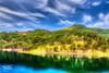 IMG_9258_59_60-Edit (Kev Walker ¦ 8 Million Views..Thank You) Tags: trees sky panorama lake water canon dam widescreen australia nsw fields 1855mm hdr lakestclair hunterregion kevinwalker glenniescreekdam canon1100d