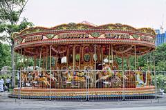 Carousel (chooyutshing) Tags: singapore fairground carousel attractions themeadows marinabay amusementrides baysouth gardensbythebay christmaswonderland christmasfestival2015