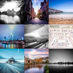 2016 (FRJ photography) Tags: photo photography year année 2016 square carré color couleur black et white noir blanc paysage landscape architecture happy fun canon composition favori favoris