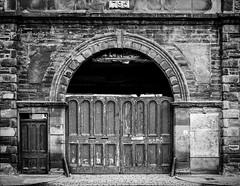 Old Bonded Warehouse (Barry Carr) Tags: fujixpro1 blackandwhite monochrome fujifilmxpro1 montrose fuji mono bw fujinon27mmf28 angus scotland