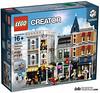 Lego 10255 - Modular Building - Assembly Square (gnaat_lego) Tags: 10ans 10years 10255 assemblysquare buiding creatorexpert hellobricks lego review gnaat jaitestépourvous modular
