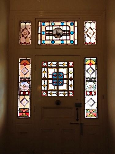 Front door, Clevedon