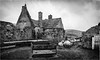 St Judes Church & School . (wayman2011) Tags: fujifilmxt10 lightroom wayman2011 bwlandscapes mono architecture churches religeousbuildings oldbuildings ruins derelict sheep rural pennines dales teesdale harwood countydurham uk