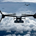 MV-22B Ospreys Over the Pacific