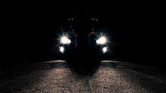 Day 7: Silhouette (Mikey Tapscott) Tags: silhouette car person night dark gti vw nikon d700 30 day photo photography challenge black background