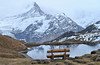 Deep bench (Alpine Light & Structure) Tags: switzerland schweiz suisse alps alpen alpes autumn berneroberland bachalpsee absentsignifier