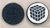 Rubik's Cube Drawing on an Oreo Cookie (Kitslam's Art) Tags: rubikscube rubiks rubix cube oreo cookie sugar candy art artist youtube awesome nerd geek whoa silhouette