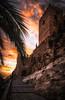 Alcazaba de Almeria (Stéphane Sélo) Tags: alcazabadealmeria architectureetbatiments chateau constructionsanciennes fort natureetpaysages paysage paysages plage alméria andalousie espagne forteresse landscape parcnaturel parquenatural pentax playazo été