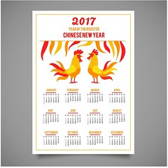 free vector Chinese Happy New Year With Rooster Calendar (cgvector) Tags: 12 2017 background business calendar celebration chicken china chinese christmas cock december decoration diary east feather fiery fire gift greeting grid happy hieroglyph holiday horoscope illustration january logo merry monday month new oriental plan poster quarter red rooster sign snow symbol template traditional vector week winter xmas year yellow zodiac newyear happynewyear party design animal chinesenewyear wallpaper color event happyholidays winterbackground