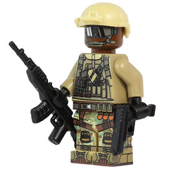 American Assault Back in Stock! (X39BrickCustoms .com) Tags: lego customs x39brickcustoms minifigure minifig american assault bf4 bf1 modern military guns weapons