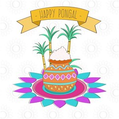 free vector Happy Pongal Day 14th January 2017 Background (cgvector) Tags: 14thjanuary agriculture asian banana banner card celebration coconut colorful creative culture decoration design family farmer festival floral food fruit grain greeting happy health hindu holiday india indian mud pongal poster pot prosperity rangoli religious rice sankranti shiny south sugarcane sun sweet tamil thankful traditional flower illustration tradition vector wheat