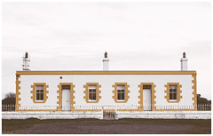 Symmetrical Building, Barns Ness Lighthouse (Gordon_Farquhar) Tags: dunbar west barns beach lothian ness lighthouse torness power station scotland scottish east coast