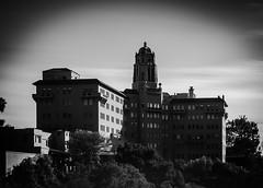 Historic Building in Pasadena (mcook1517) Tags: urban longexposure sky california pasadena blackandwhite building architecture historicbuilding