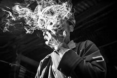 Clouded judgment ~ Myanmar (~mimo~) Tags: inle man ethnic nicotine cigar smoke portrait blackandwhite asia burma documentary mimokhairphotography myanmar travel