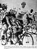 1977 TDF One of us... (Sallanches 1964) Tags: scrapbook tourdefrance 1977 bernardthévenet yellowjersey henniekuiper roadcycling