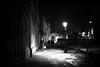 Lamplit (stephen cosh) Tags: 50mmaposummicron leicammonochromtyp246 blackandwhite candid england monochrome oxford stephencosh street streetphotography