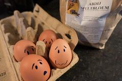 baking (=Mirjam=) Tags: sonydscrx100iii 52weeksof2017 silly eggs baking flour kitchen odc januari 2017