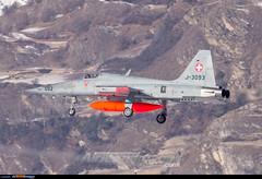 Sion Airport: Northrop F-5E Tiger II (Simone Ciaralli - AirTeamImages) Tags: saimonvolo saimon simone ciaralli sion switzerland aviation avgeek airteamimages olympus zuiko swissairforce military