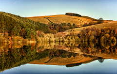 An Ogden Reflection (Missy Jussy) Tags: ogden reservoir reflections water newhey rochdale landscape land lancashire england hills trees sky symmetry canon colourful canon1855mm canon600d 1855mm