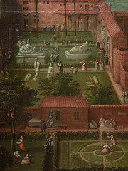 CLEVE (van) Hendrick III ,1580 - Vue sur les Jardins du Vatican et la Basilique St-Pierre (Custodia) - Detail 19 (L'art au présent) Tags: art painter peintre details détail détails detalles painting paintings peinture peintures 17th 17e peinture17e 17thcenturypaintings 17thcentury detailsofpainting detailsofpaintings tableaux custodia custodiafoundation paris france hendrickiiivancleve hendrick hendrickiii cleve vancleve dutchpaintings peintreshollandais dutchpainters jardinsduvatican basiliquestpierre basilique basilica stpierre jardins gardens parc park vatican italie italia italy church panorama landscape house houses maisons figure figures people personnes plaisirs jeux games game fun play pleasure montagnes mountain mountains abruzzes 7collinesderome rome roma sevenhillsofrome saintpierrederome saintpierre