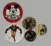Nice Group of the Buttons (Hydra5) Tags: mickeymouseclub thing getsmart munsters wolverine