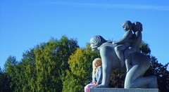 For the 8th of March & Her many Facets & Dimensions (dodagp) Tags: womensday internationalwomensday 8thofmarch wishes nomoregendergaps promotingtheprogressoftheworld sculptures metaphors norway oslo vigelandsculpturepark frognerpark gustavvigeland sculptors happywomensday