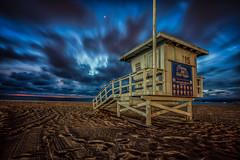 Coast Guard (mcalma68) Tags: santa monica los angeles us beach blue hour sand seascape sunset clouds long exposure