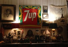 Refreshing 7up (blackthorne56) Tags: refreshing 7up advertising sign steel enamel peter max pop art op
