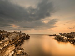 evening (dayonkaede) Tags: beach sea sky sand ocean landscape olympus em1markii m1240mm f28 nature sunset