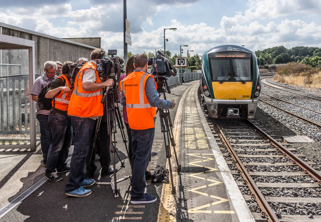 THE MINISTER PLUS PLATFORM 10 AND THE PHOENIX PARK RAILWAY TUNNEL [NOT FORGETTING IRISH RAIL STAFF] REF-107153