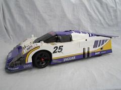 Jaguar XJR9 lego by Greg998 (greg_998) Tags: cars lego jaguar endurance ideas lemans xjr9
